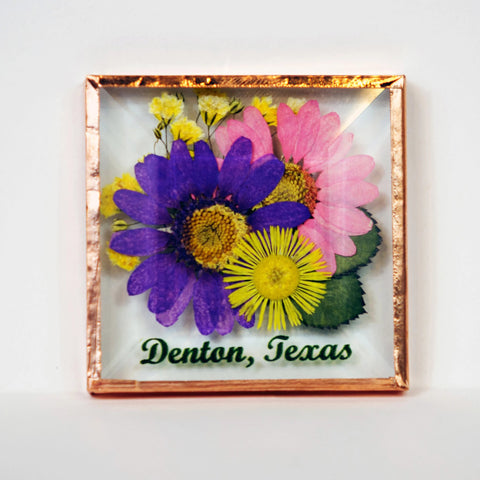 Denton Flower Magnet
