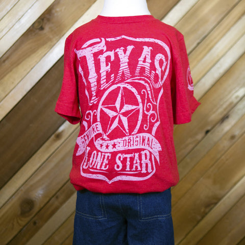 Lone Star State T-Shirt Child's (Red)