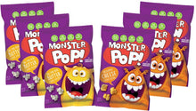 Load image into Gallery viewer, Monster Pop Popcorn Variety Pack Butter + Cheese