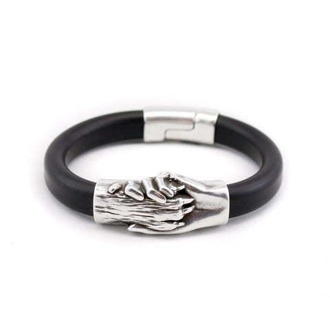 Dog's Paw Vegan Rubber Bracelet - Hand and Paw Project™ Jewelry