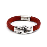 Cat's Paw Original Leather Bracelet - Hand and Paw Project™ Jewelry