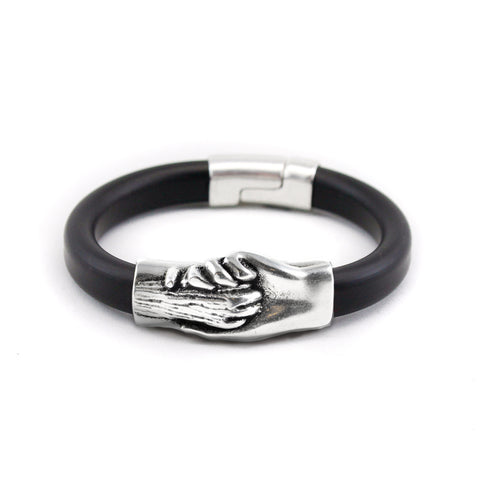 Cat's Paw Vegan Rubber Bracelet - Hand and Paw Project™ Jewelry