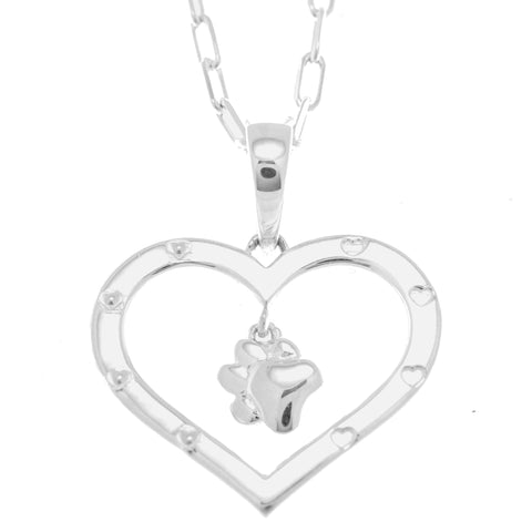 Furever in my Heart Pendant