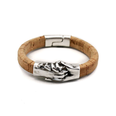 Dog's Paw Vegan-Friendly Original Cork Bracelet - Hand and Paw Project™ Jewelry