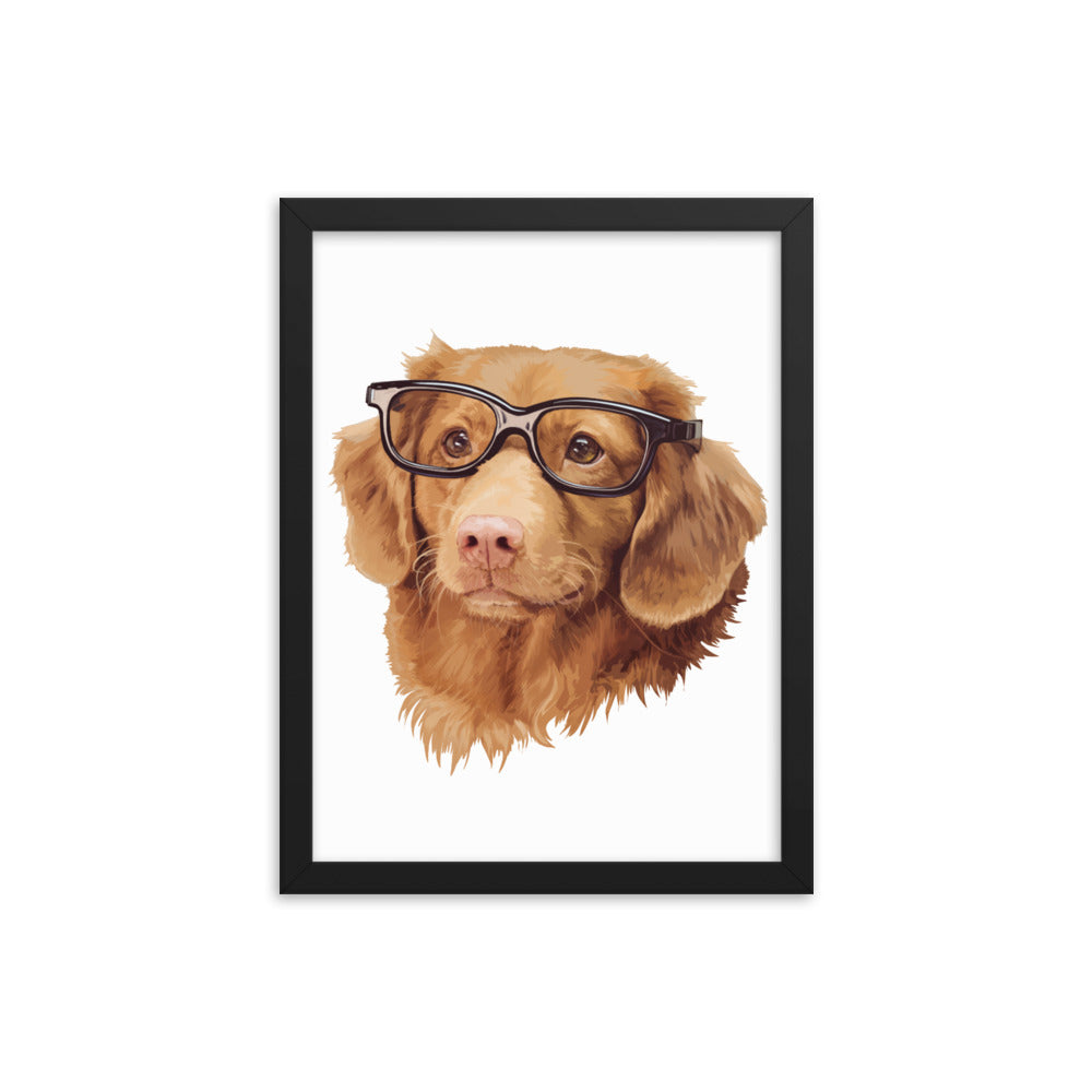 Custom Pet Poster with Frame