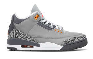 AIR JORDAN 3 RETRO / COOL GREY