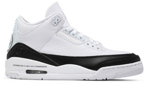 FRAGMENT DESIGN x AIR JORDAN 3 RETRO / WHITE