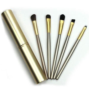 Travel-Size Eye Makeup Brush Set