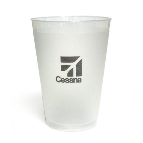 Cessna 10 0z. Frosted Cup, 25/sleeve