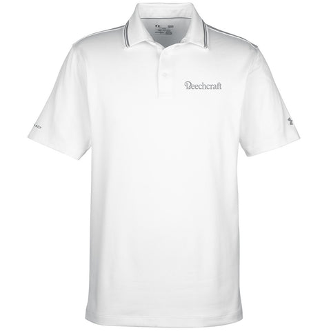 Beechcraft Mens Under Armour Address Polo