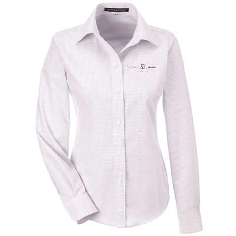 Textron Aviation Ladies Micro Tattersall Woven