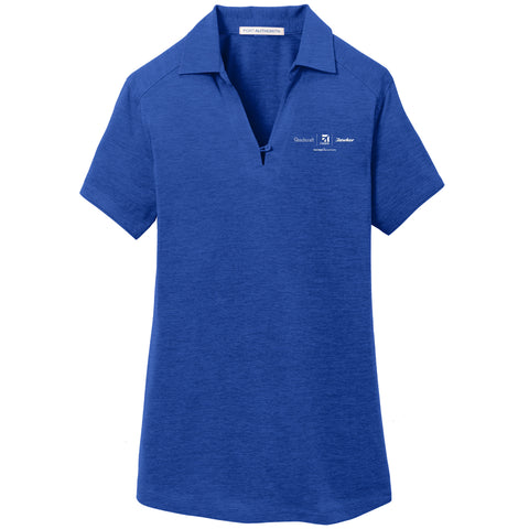 Textron Aviation Ladies Digi Heather Polo