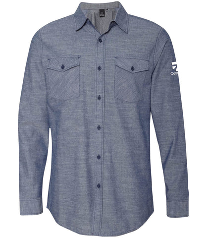 Cessna Mens Chambray Shirt