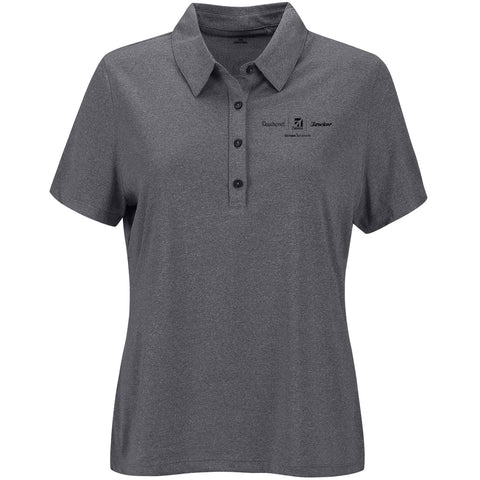 Textron Aviation Ladies Micro Melange Polo