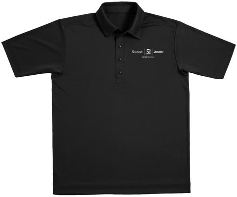 Textron Aviation Mens Interlock Polo
