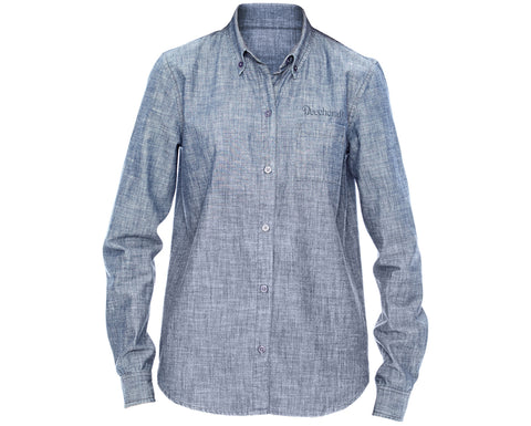 Beechcraft Ladies Chambray Shirt