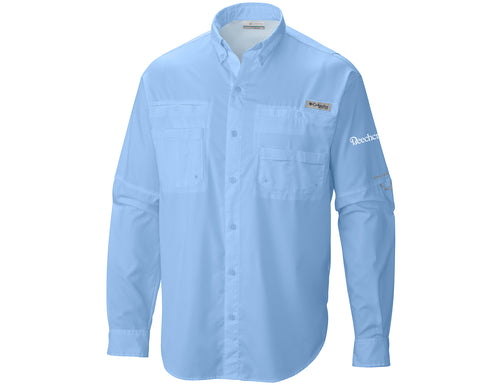 Beechcraft Mens Columbia Long Sleeve Shirt