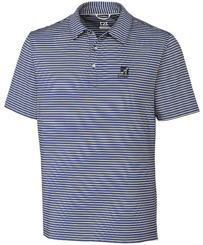 Cessna Mens Cutter & Buck Stripe Polo