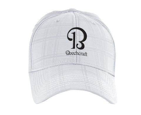 Beechcraft Ahead Textured Plaid Tech Hat