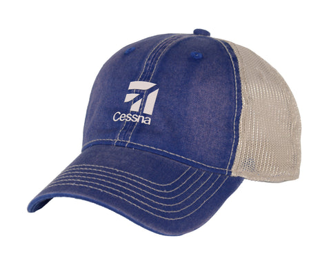 Cessna Ahead Classic Cut Mesh Back Hat