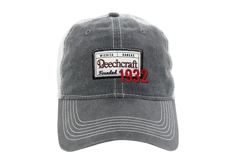 Beechcraft Ahead Pigment Dyed Mesh Hat