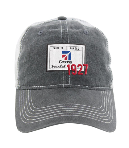 Cessna Ahead Pigment Dyed Mesh Hat