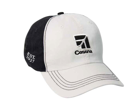 Cessna Ahead Collegiate Washed Two Tone Hat