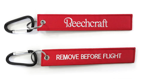 Beechcraft Remove Before Flight Keytag
