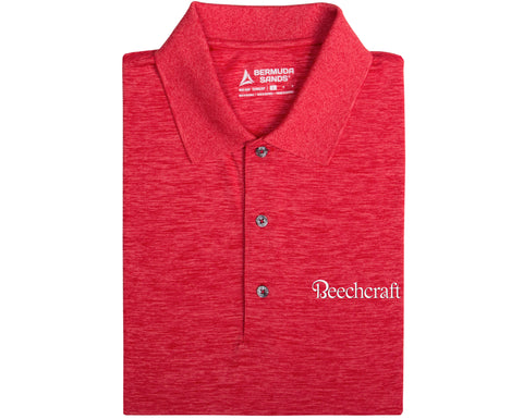 Beechcraft Mens Steam Polo