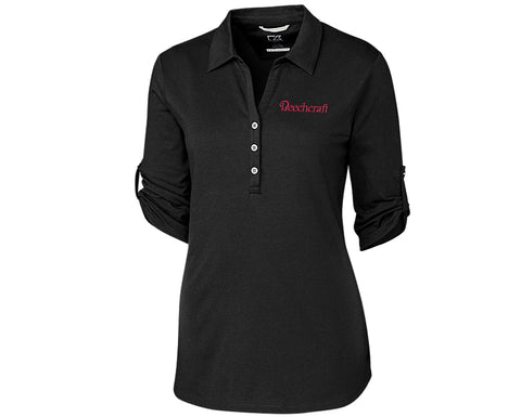 Beechcraft Ladies Cutter & Buck Thrive Polo