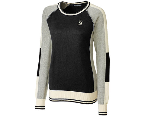 Cessna Ladies Colorblock Sweater