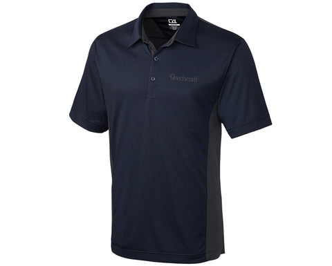 Beechcraft Mens Cutter & Buck Colorblock Polo