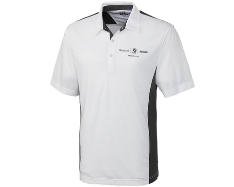 Textron Aviation Mens Cutter & Buck Colorblock Polo