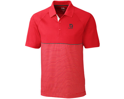 Cessna Mens Cutter & Buck Junction Polo