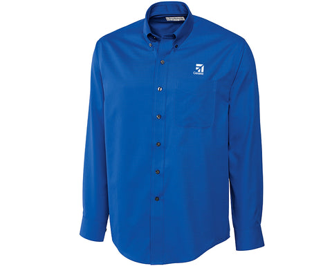 Cessna Mens Cutter & Buck Fine Twill Shirt