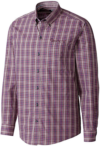Beechcraft Mens Cutter & Buck Garden Plaid Woven