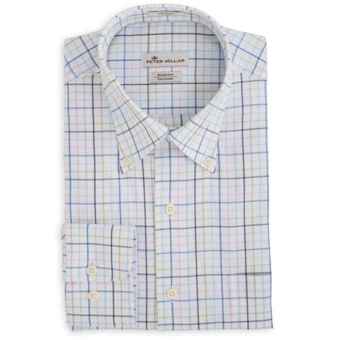 Cessna Mens Peter Millar Classic Button Down