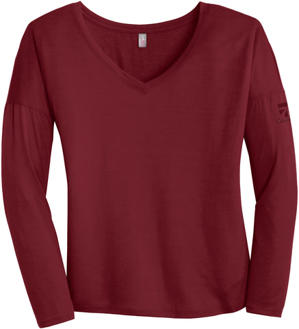 Cessna Ladies Long Sleeve Drapey Tee