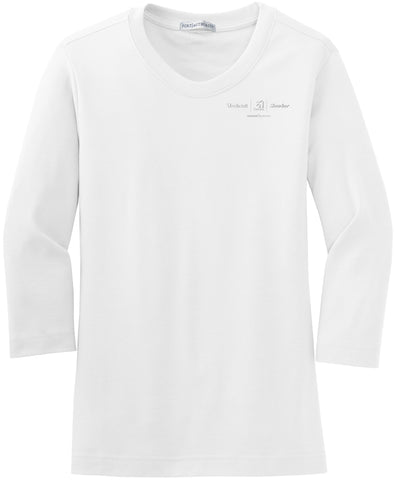 Textron Aviation Ladies 3/4 Scoop Neck