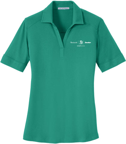 Textron Aviation Ladies Interlock Performance Polo