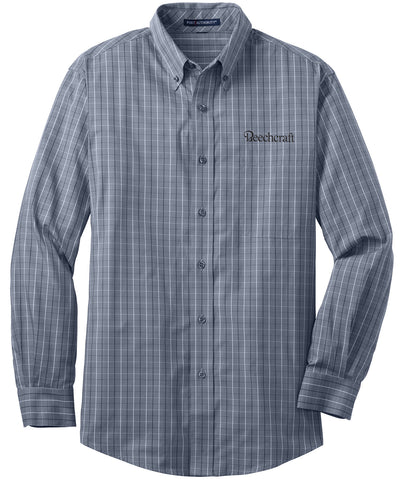 Beechcraft Mens Easy Care Woven