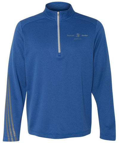 Textron Aviation Mens Adidas Ultra Lightweight 1/4 Zip
