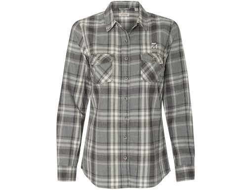 Cessna Ladies Vintage Flannel Shirt