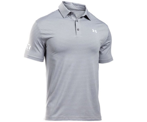 Cessna Mens UA Playoff Stripe Polo