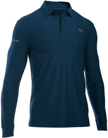 Beechcraft Mens UA L/S Playoff Polo