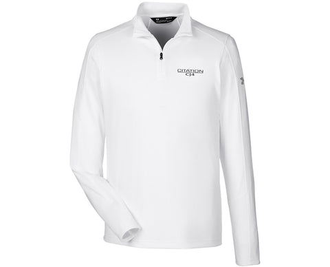 CJ4 Mens Under Armour Tech Quarter-Zip