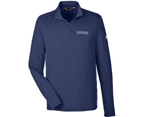 Latitude Mens Under Armour Tech Quarter-Zip