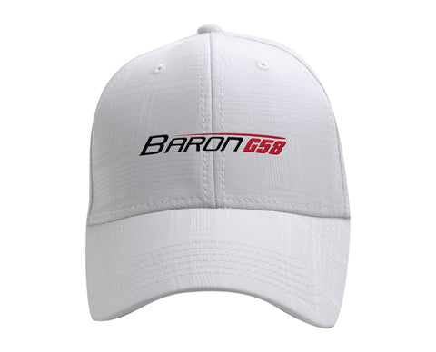 Beechcraft Bonanza G36 Ahead Textured Plaid Tech Hat