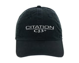 Citation CJ3+ Ahead classic cut vintage twill cap