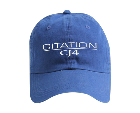 Citation CJ4 Ahead classic cut vintage twill cap